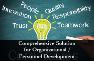 Comprehensive Solution for Organizational